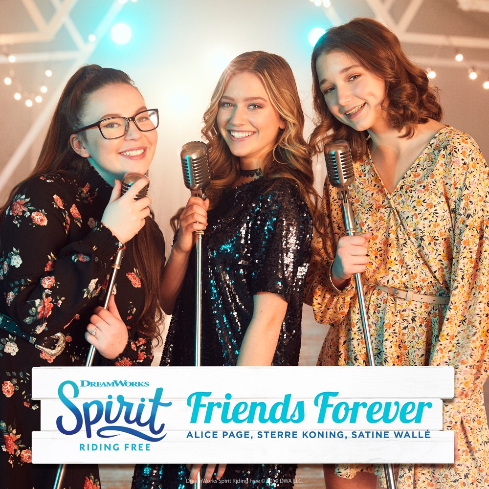 KidsMusics】 Download Friends Forever (Spirit Riding Free Cover ...